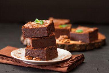 Receita de Brownie Fácil de Nozes - Brownie-fácil-de-nozes-380x253