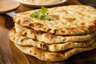 Receita de Naan - Pão indiano - Naan-Pão-indiano-380x253