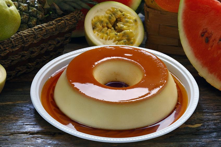 Receita de Pudim de Leite com Gelatina - Pudim-de-leite-com-gelatina