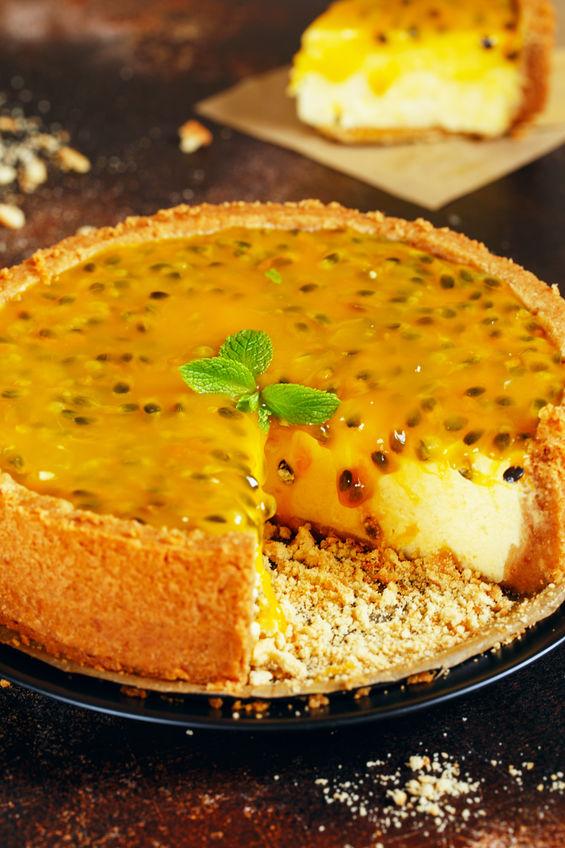 Receita de Torta Trufada de Maracujá - Torta-trufada-de-maracujá