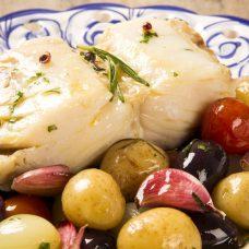 Bacalhau Fácil de Forno