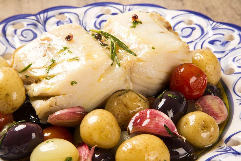 Receita de Bacalhau Fácil de Forno - Bacalhau-fácil-de-forno