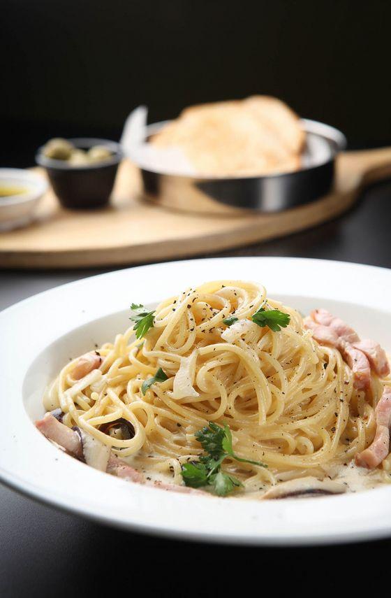 Receita de Espaguete com Gorgonzola - Espaguete-com-gorgonzola